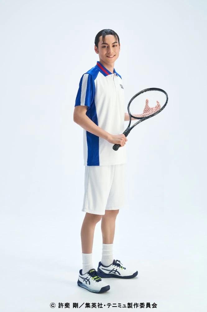 网球王子舞台剧第4季《青学vs不动峰》21名演员定妆照公开  第3张