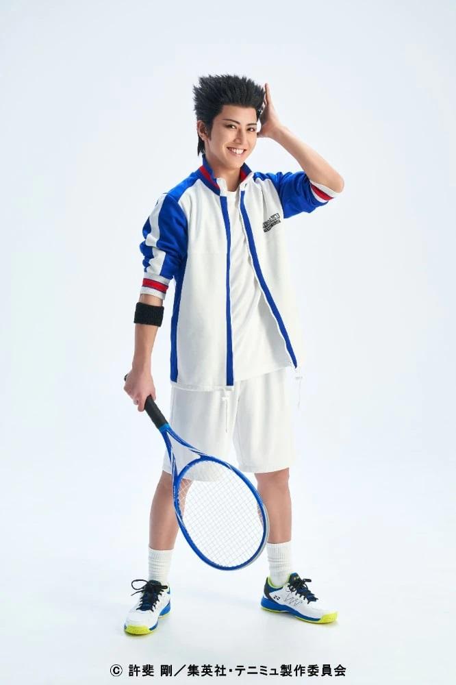 网球王子舞台剧第4季《青学vs不动峰》21名演员定妆照公开  第8张