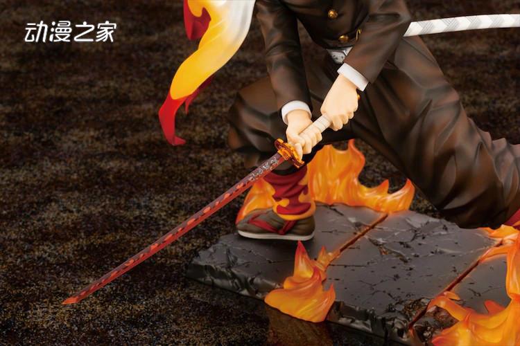 ARTFX J《鬼灭之刃》炼狱杏寿郎1/8比例手办  第6张