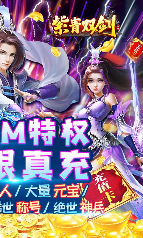 紫青双剑(送GM真充)截图2