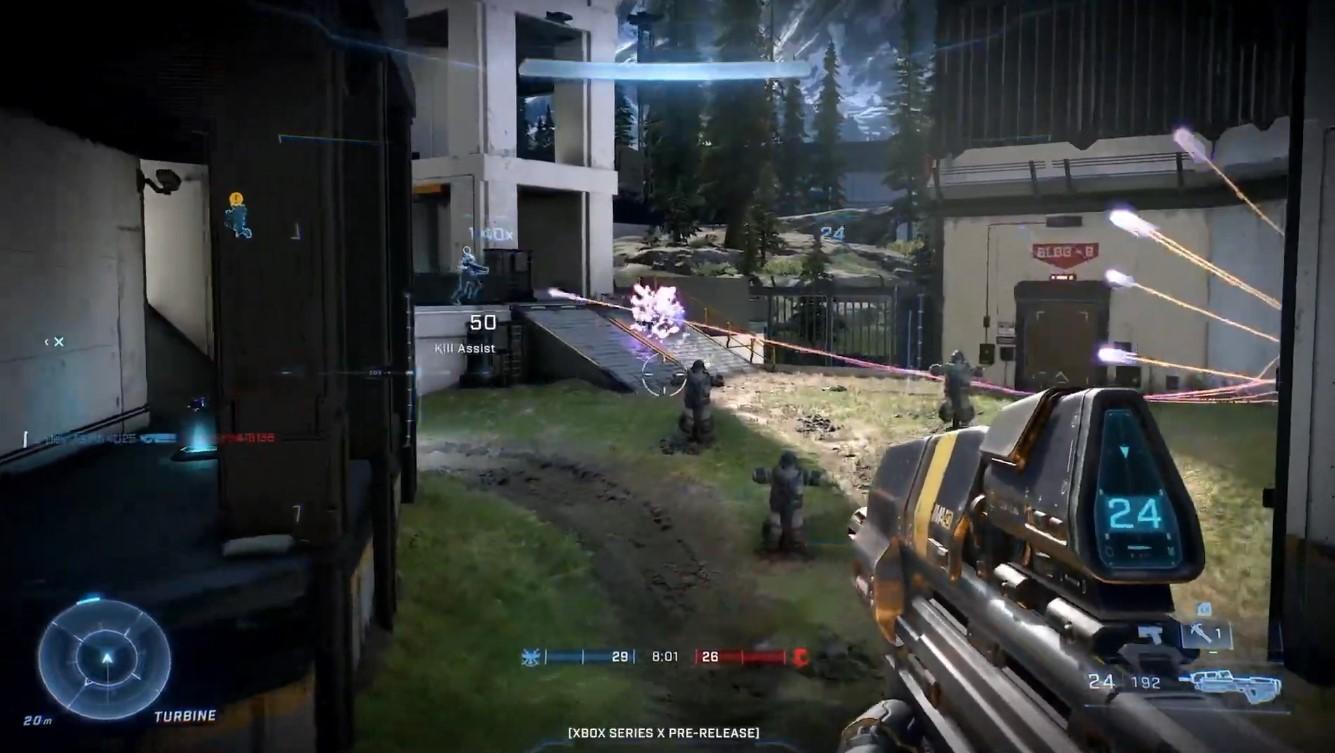 《光环:无限》XSX版7分钟多人模式演示  第5张