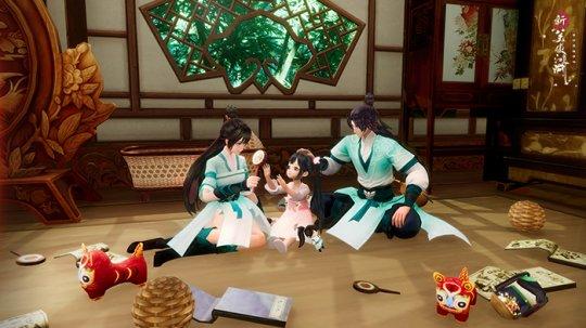 全新养育玩法开启 《新笑傲江湖》手游新版8月5日上线  第2张