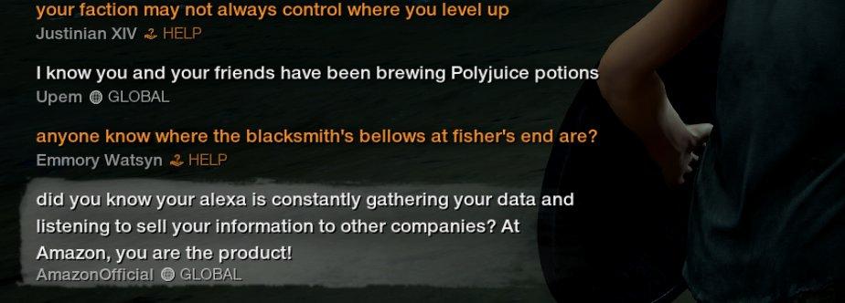《新世界》玩家假装亚马逊官方 游戏中玩亚马逊黑梗  第2张