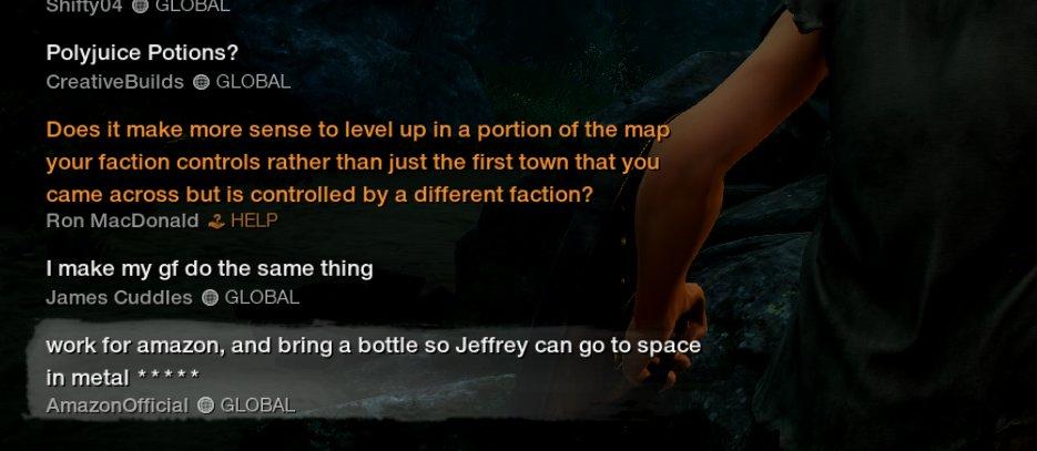 《新世界》玩家假装亚马逊官方 游戏中玩亚马逊黑梗  第4张
