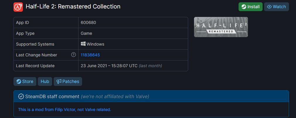 官方授权饭制《半条命2重制版合集》将上线Steam  第2张