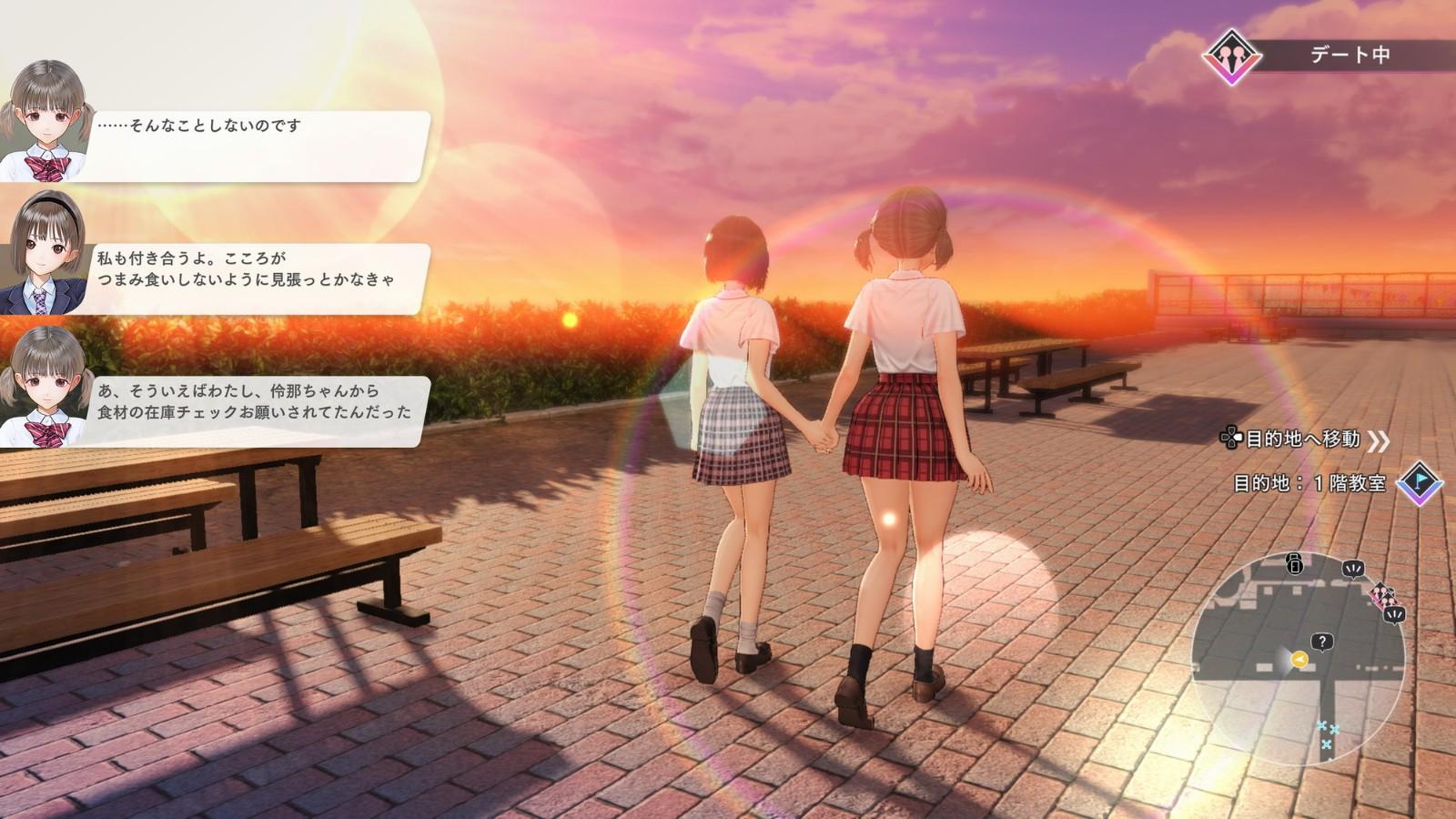 美少女RPG《蓝色反射:帝》Steam版11月9日发售  第3张