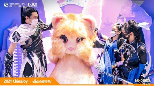 ChinaJoy现场撸猫 西山居《Project Cat》展区人类爱猫行为大赏  第4张