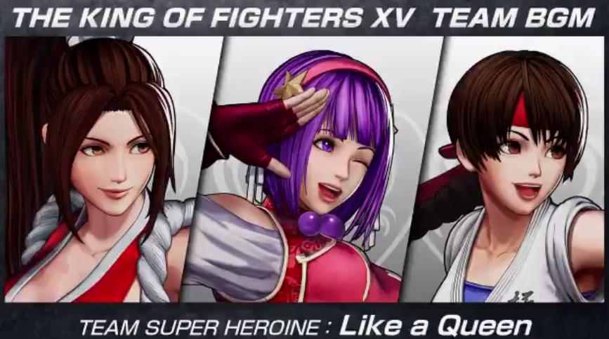 《拳皇15》超级女主角队BGM宣传片 新战斗舞台公开  第2张
