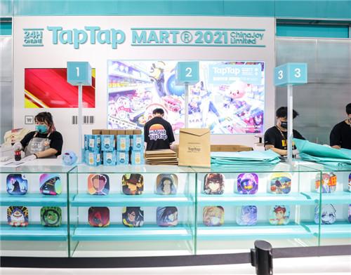 """直击2021CJ游戏展区:在""""TapTap MART""""享受纯粹的游戏乐趣!  第3张"""