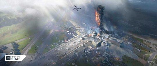 """了解《战地2042》!EA发布《战地2042》""""无邦者之旅""""第五部分""""菠萝速递""""  第2张"""