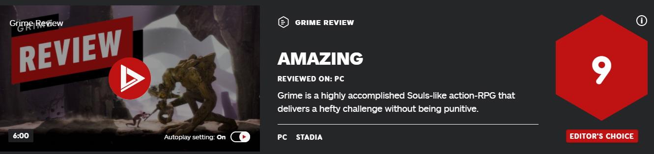 类魂动作游戏《尘埃异变》IGN评9分 受苦体验很棒  第1张