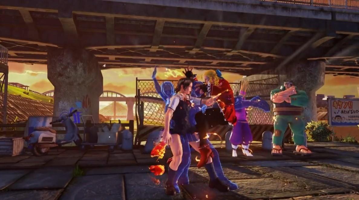 《街头霸王5》风间晶角色预告 展示角色招式特色  第2张