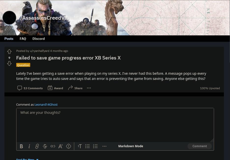 《刺客信条:英灵殿》开发者正在着手调查主机无法存档问题  第3张