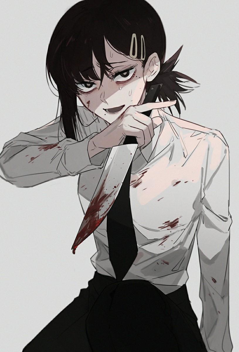 P站美图推荐——回溅的血迹特辑  第4张