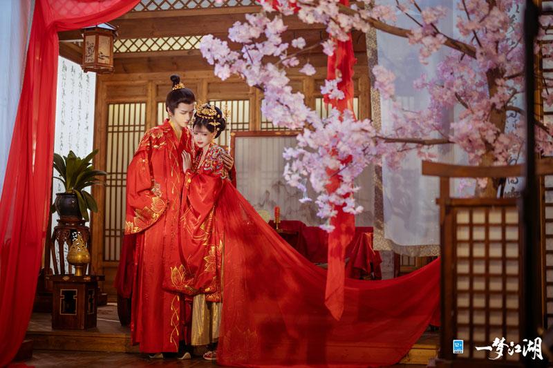 花月佳期《一梦江湖》玩家集体婚礼官宣!  第2张