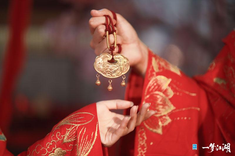 花月佳期《一梦江湖》玩家集体婚礼官宣!  第6张