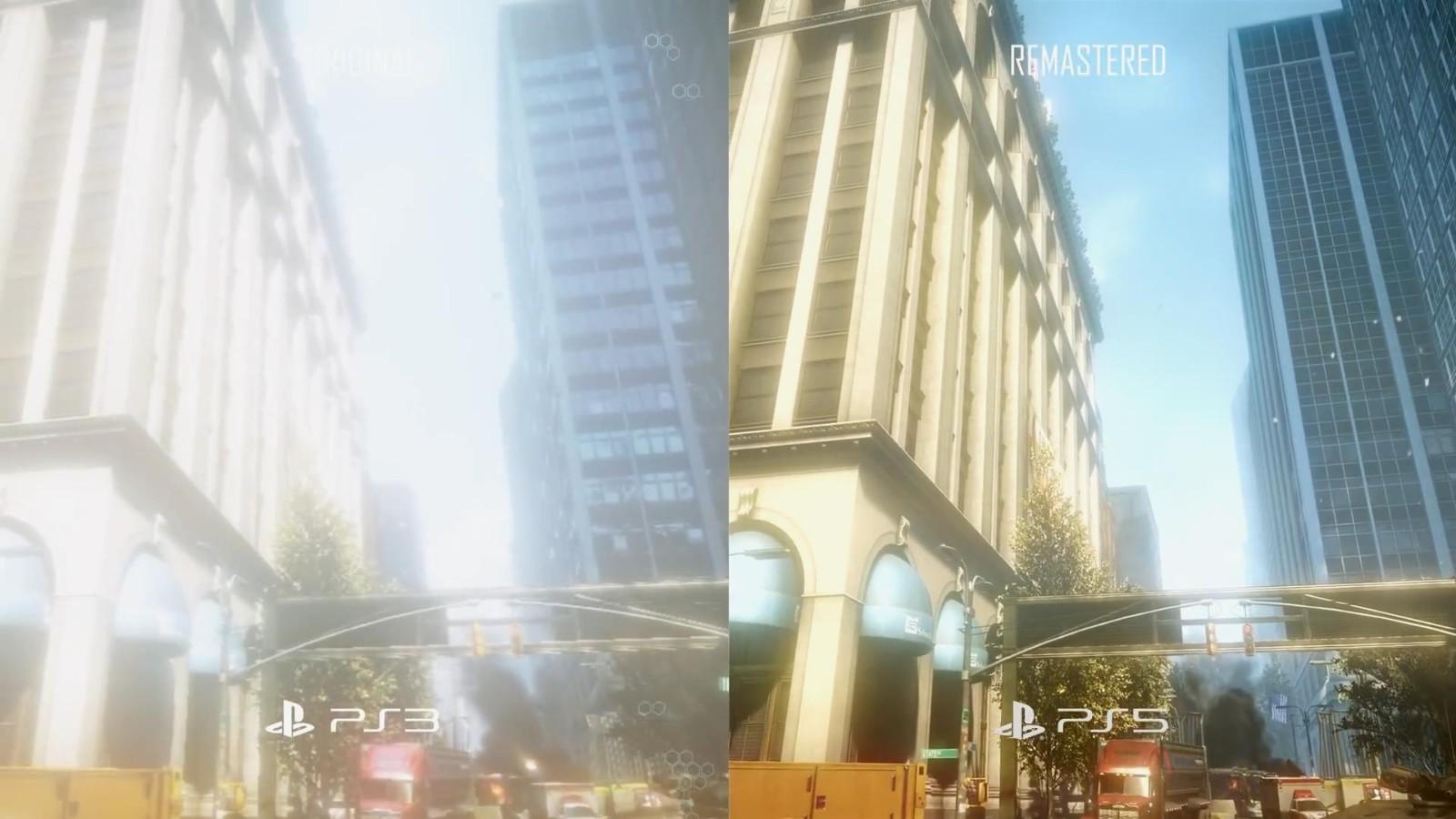 《孤岛危机复刻版三部曲》PS3 Vs.PS5视频 画面大改进  第1张