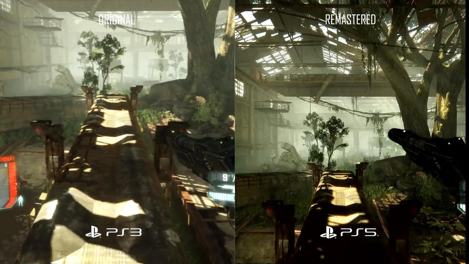 《孤岛危机复刻版三部曲》PS3 Vs.PS5视频 画面大改进  第2张