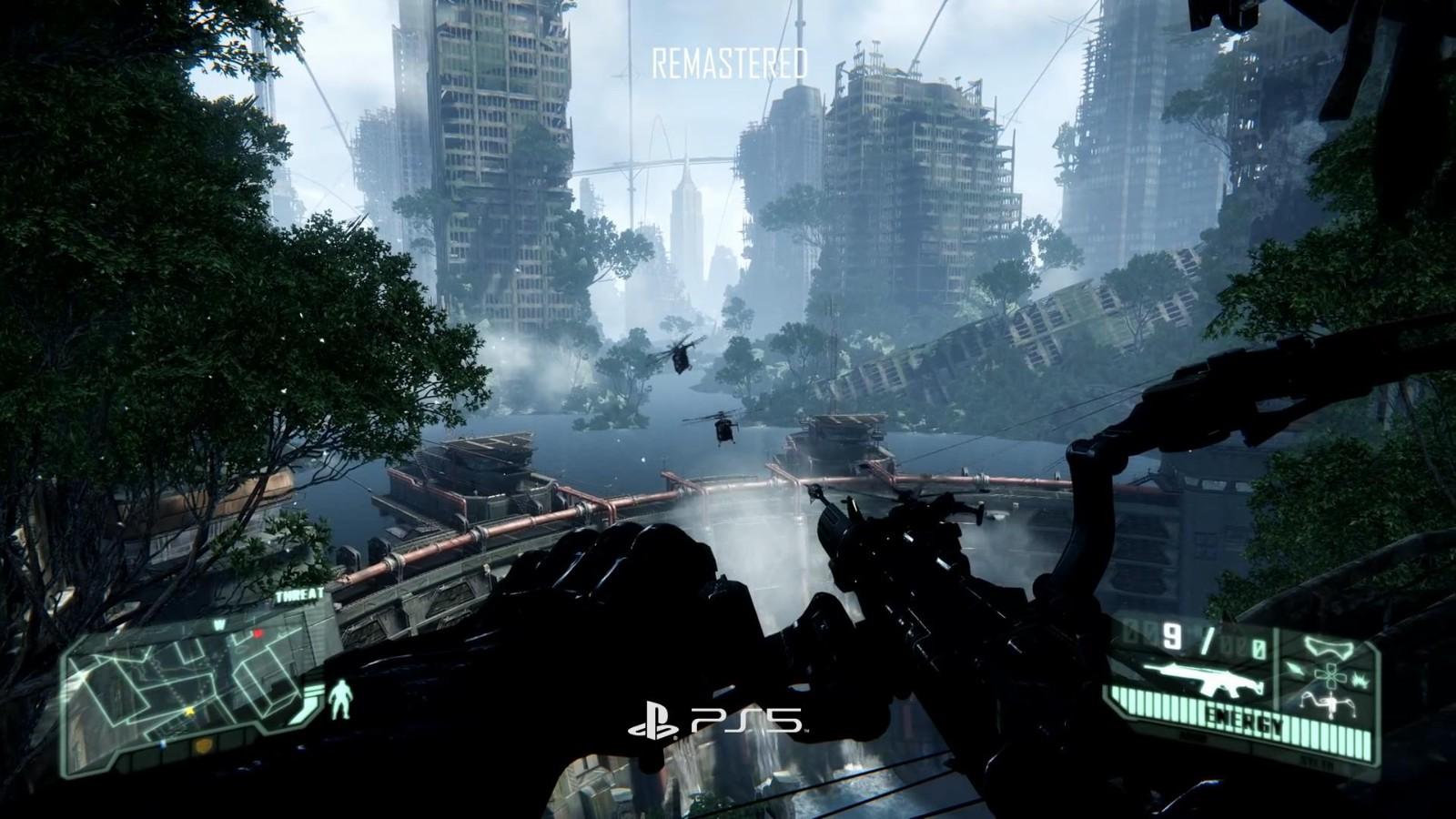 《孤岛危机复刻版三部曲》PS3 Vs.PS5视频 画面大改进  第3张
