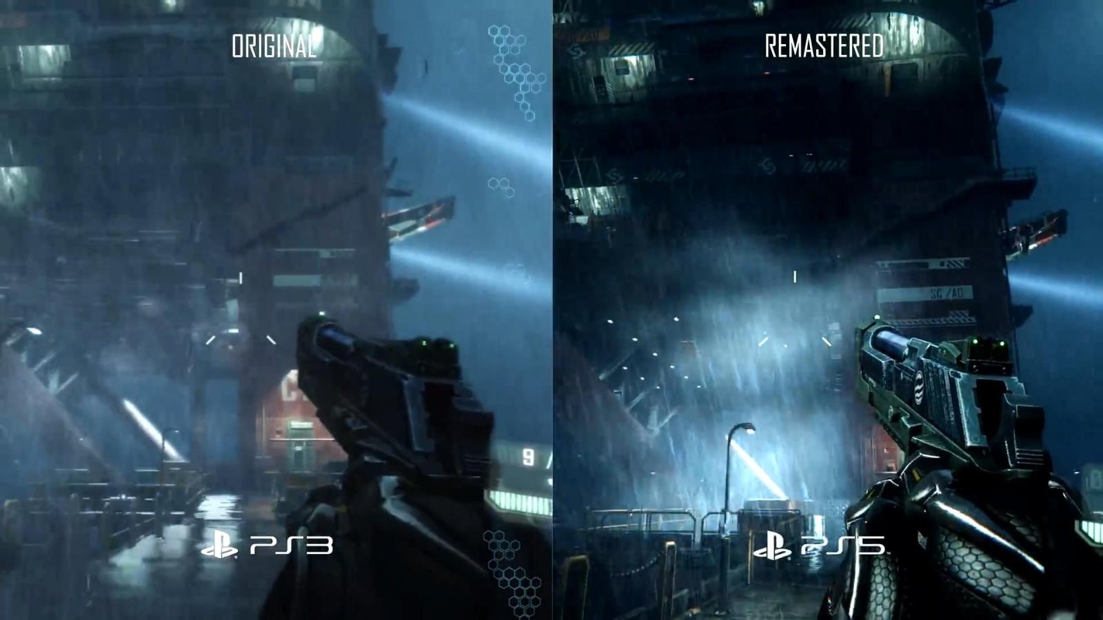 《孤岛危机复刻版三部曲》PS3 Vs.PS5视频 画面大改进  第4张